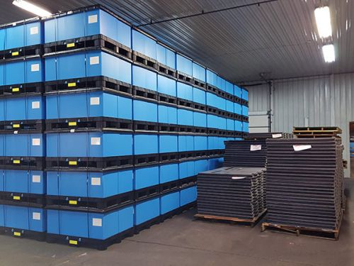 Corrugated Plastic Dunnage